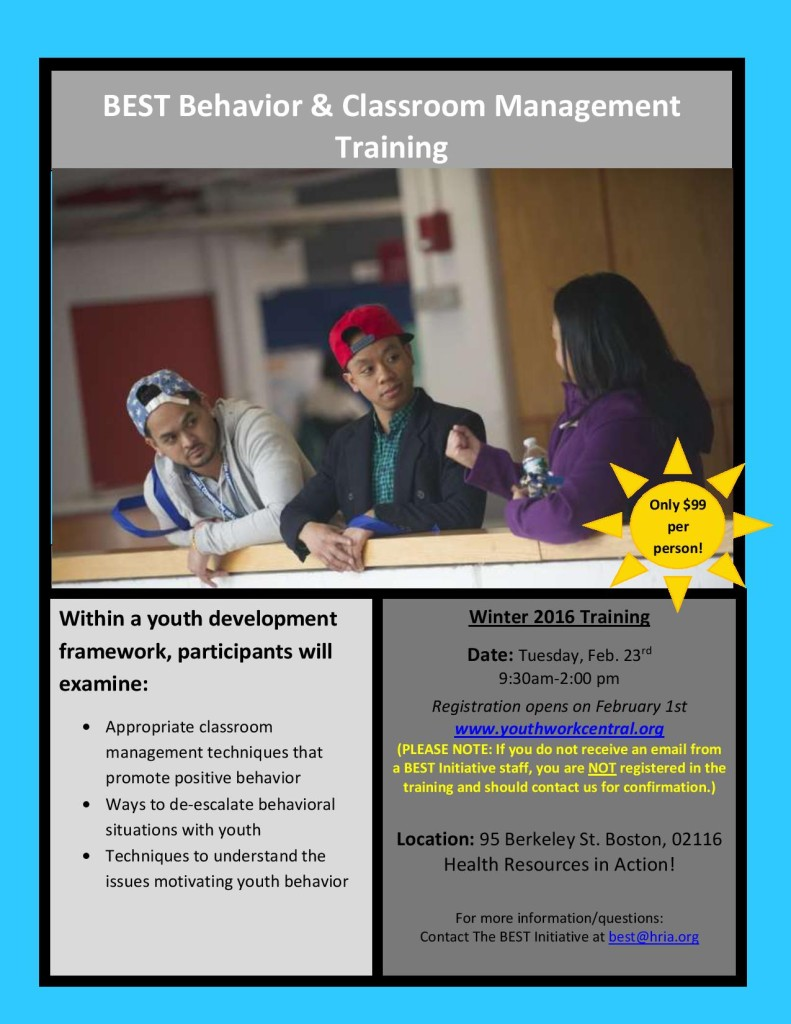 Classroom Mgmt training flyer 2016-page-001 (2)
